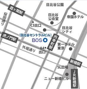 新社屋地図